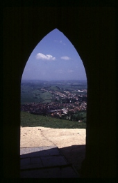 Arch at Glastonbury Tor