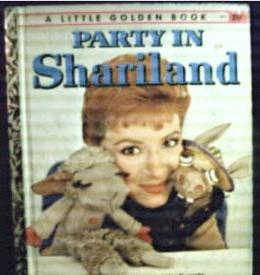 Shari Lewis on cover of 'Party in Shariland'